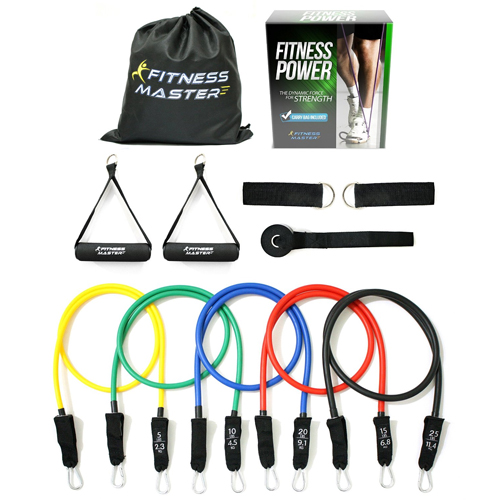 11-PC Resistance Band Set : Only $19.97