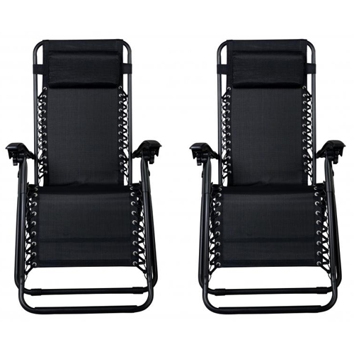 Set of 2 Zero Gravity Chairs : $43.99 + Free S/H
