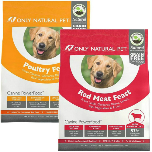 2-LBS of Only Natural Dry Dog Food : $3.98 + Free S/H