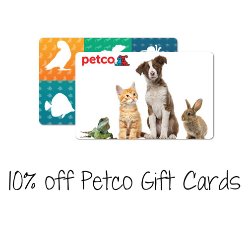 10% off $100 Petco Gift Card : Only $90