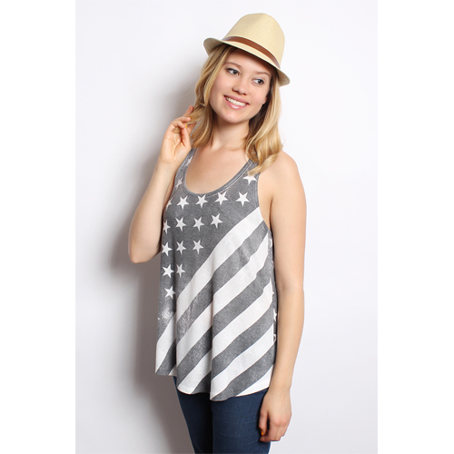 Women's American Flag Tank Top : $15.99 + Free S/H