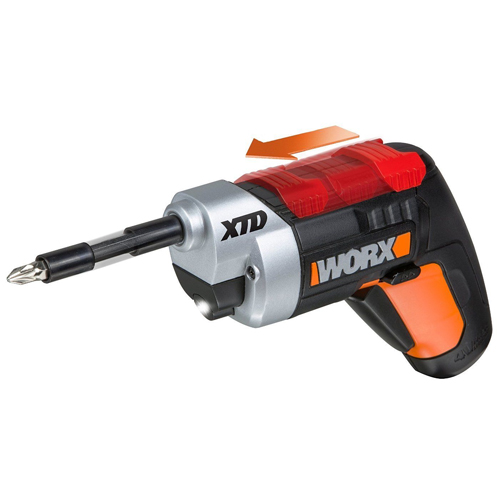 Refurb Worx Extended Reach Screwdriver : $17.99 + Free S/H