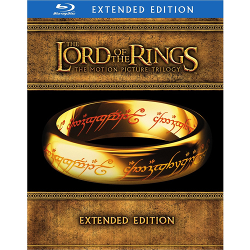 The Lord of the Rings: The Motion Picture Trilogy Extended Edition Blu-ray : $26.49