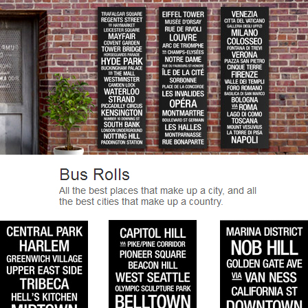 62% off 20″ x 60″ Canvas Bus Roll Prints : $129.99 + Free S/H