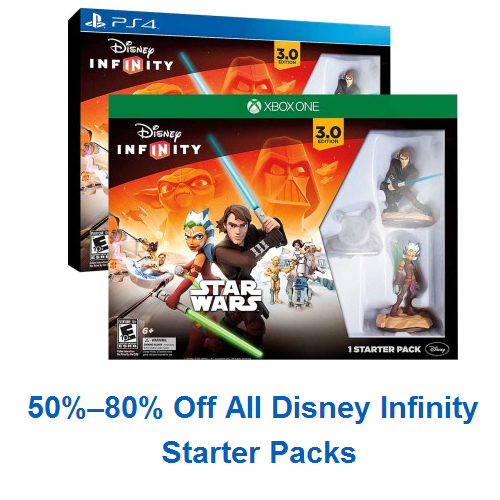 Disney Infinity Starter Packs : 50-80% off