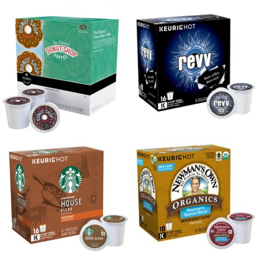 Up to 43% off 16 and 18-Packs of K-Cups : $7.99 + Free S/H