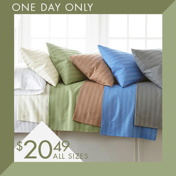 400TC Sheet Sets : Only $20.49