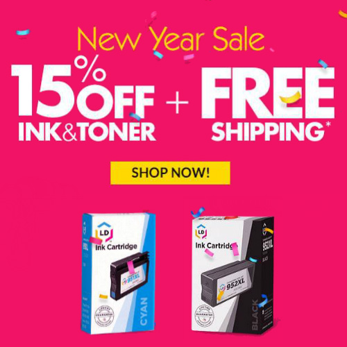 4Inkjets : Up to 75% off + Extra 15% off + Free S/H