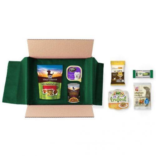 Dog Food & Treats Sample Box w/$9.99 Amazon Credit : $9.99 + Free S/H for Prime Members