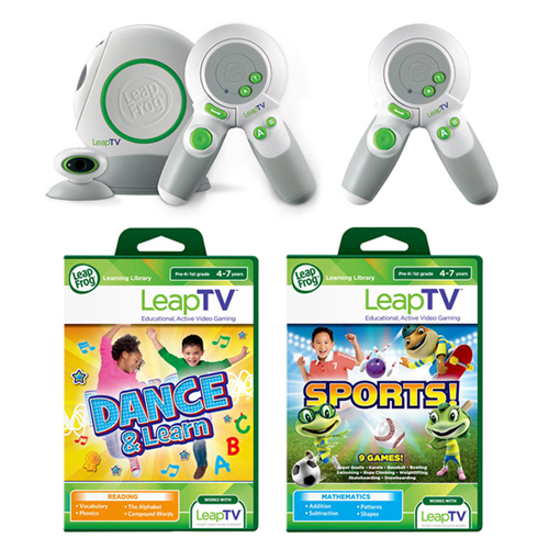 LeapTV System & Games Set : $39.99 + Free S/H