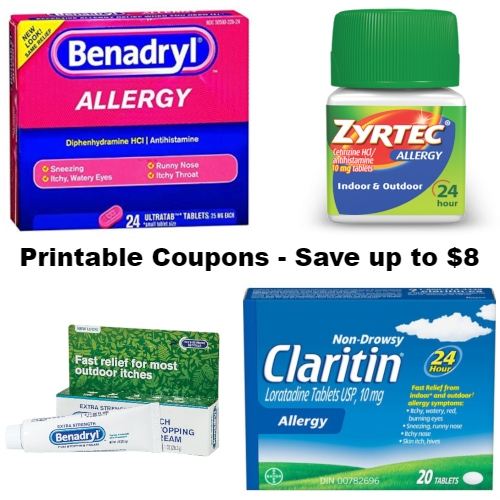 picture about Zyrtec Coupon Printable titled Printable Allergy Medicines Discount codes : Conserve up in direction of $8