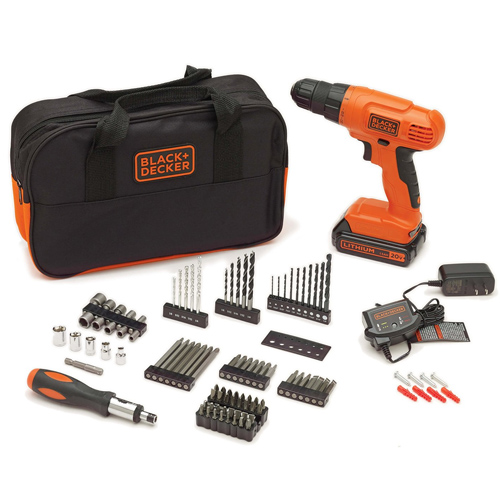 Black + Decker Drill Kit : $59.99 + Free S/H