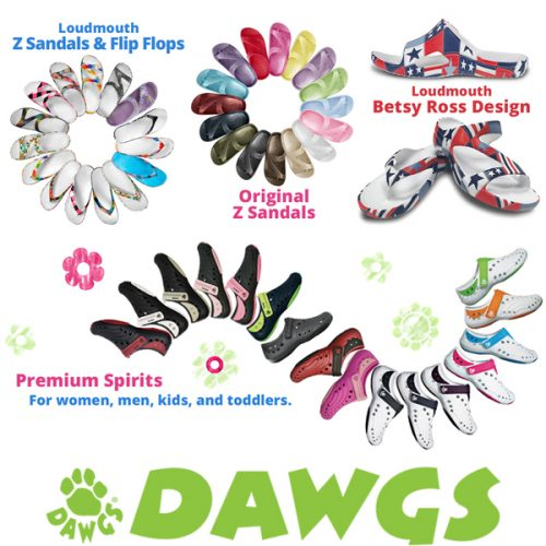 Dawgs Footwear : 70% off any order