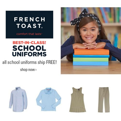 French Toast School Uniforms : 50% off + Free S/H
