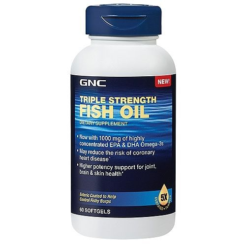 60-CT GNC Fish Oil : $9 + Free S/H