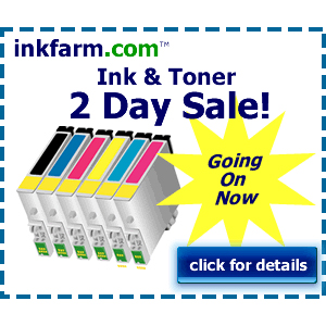 InkFarm : 40-80% off Retail + Extra 10% off and Free S/H