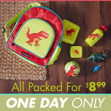 Little Kids' Backpacks and Lunch Kits : $8.99