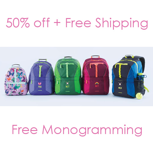 Lands' End Backpacks : 50% off + Free S/H and Free Monogramming
