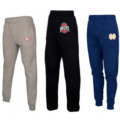 Men's NCAA Jogger Pants : $9.99