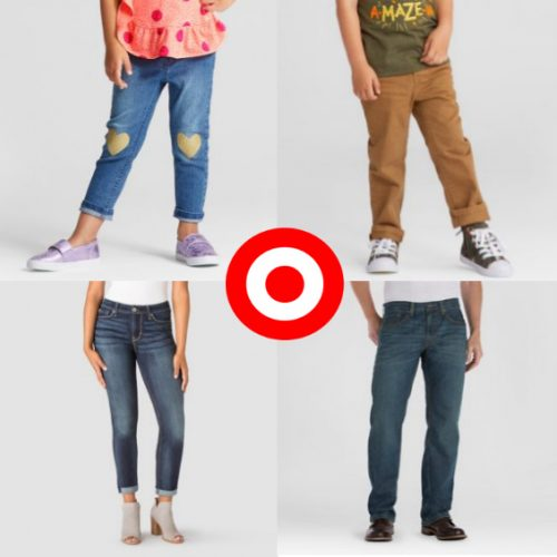 Target : BOGO 50% off Jeans for the Whole Family