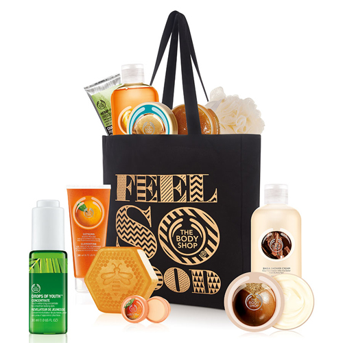 The Body Shop 2015 Black Friday Tote : $35 + Free S/H