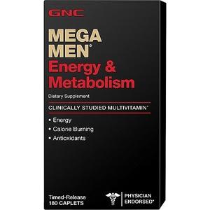 180-CT Mega Men Energy & Metabolism : $23.99 + Free S/H