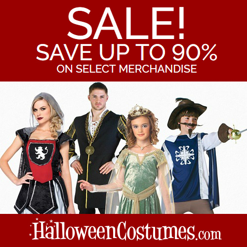 HalloweenCostumes.com Coupon : Extra 15% off any order