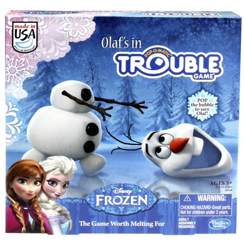 Olaf's In Trouble Game : $7.49 + 99¢ S/H