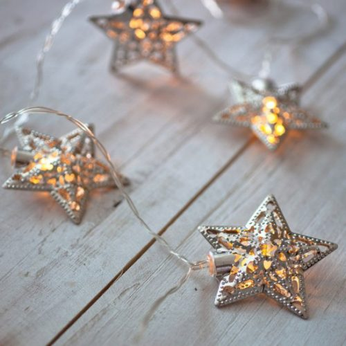 14′ Solar Star String Lights : 2 for $22.08 + Free S/H