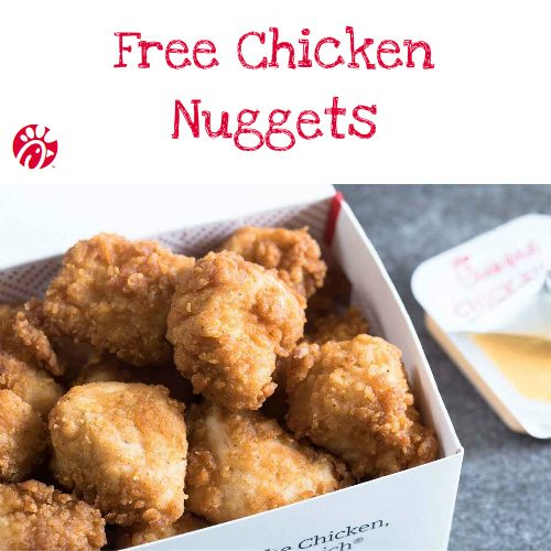 Chick-fil-A : Free Chicken Nuggets