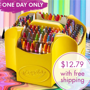 152-PC Crayola Ultimate Crayon Set : $12.79 + Free S/H