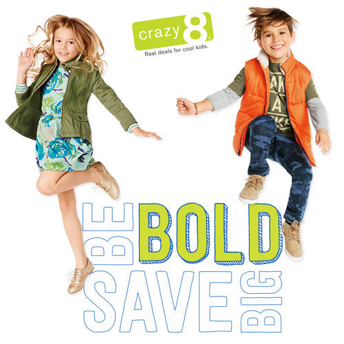 Crazy8 : Up to 75% off + Extra 15% off and Free S/H