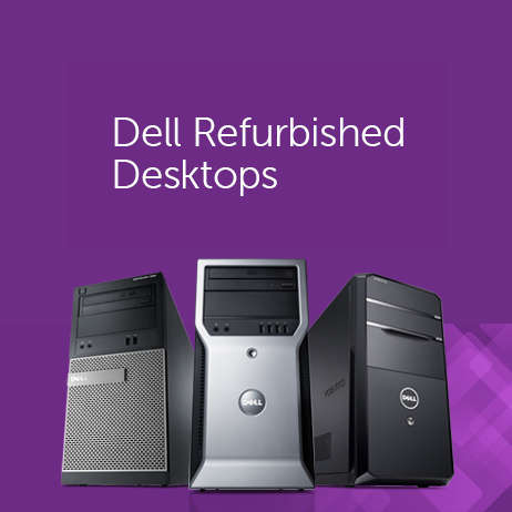 Dell Refurbished Desktop Computers : Extra 60% off + Free S/H