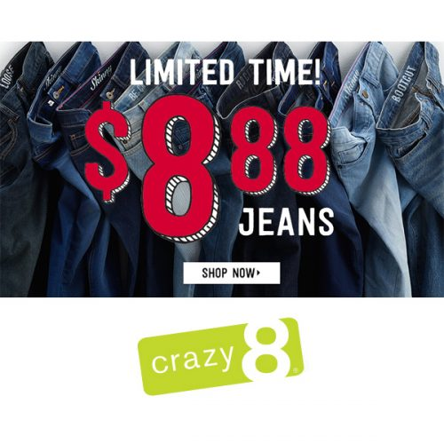 Children's Jeans : Only $8.88