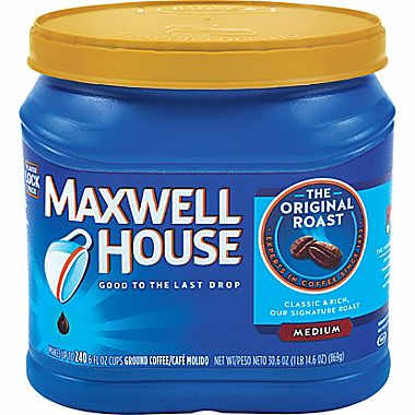 240 Cups of  Maxwell House Coffee : $5.99
