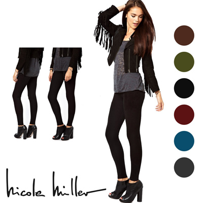 Nicole Miller Fleece Lined Tights : $3.99 & $4.99 + Free S/H