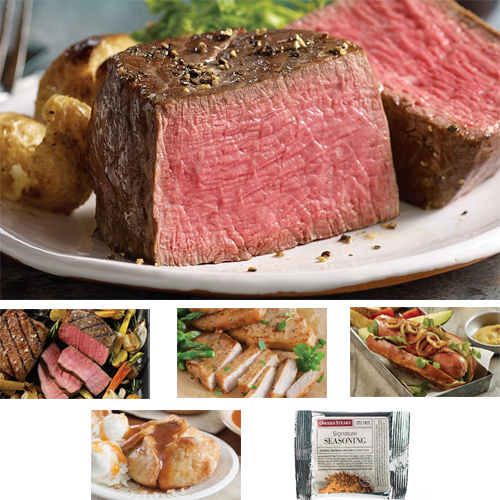 57% off The Best of Omaha Steaks Combo : $59.99 + Free S/H
