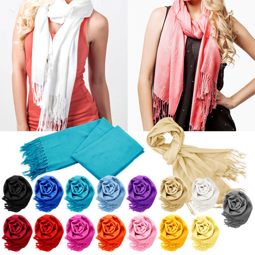75% off Pashmina Scarves : $4.99 + Free S/H