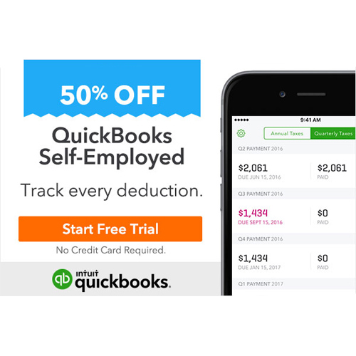 Quick Books Self-Employed : Only $5/month