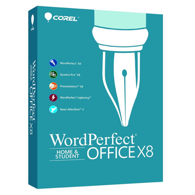 Corel WordPerfect Office X8 Home & Student : $34.99