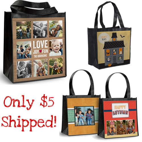 69% off Personalized Reusable Shopping Tote : Only $4.98 Shipped