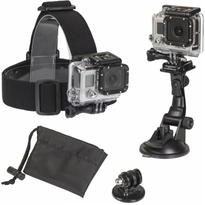 Action Camera Accessory Mount Kit : Only $9.99