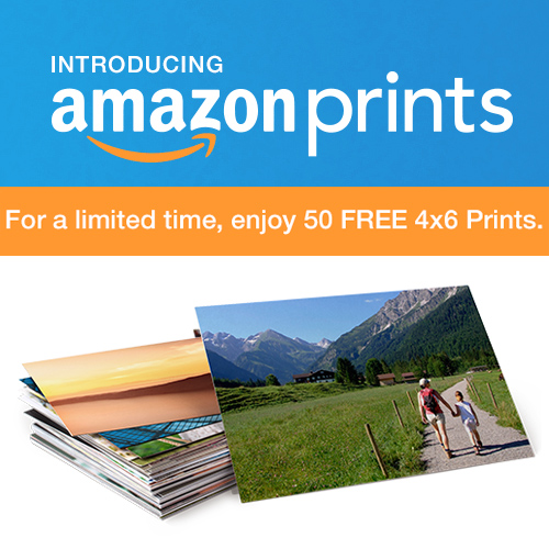 Amazon : 50 Free 4×6 Photo Prints