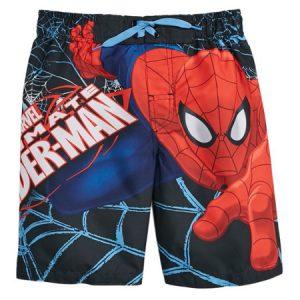 clearance-boys-spiderman-swim-trunks
