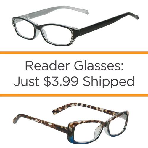 Reading Glasses : $3.99 + Free S/H