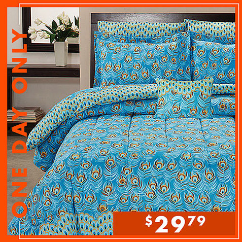 Up to 75% off Comforter Sets : Only $29.79