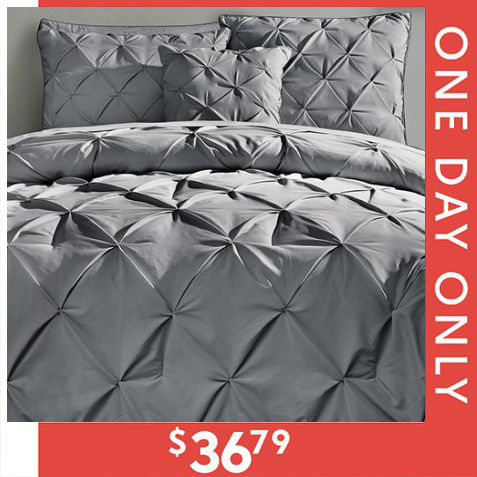 Up to 75% off 4- and 5-PC Comforter Sets : Only $36.79