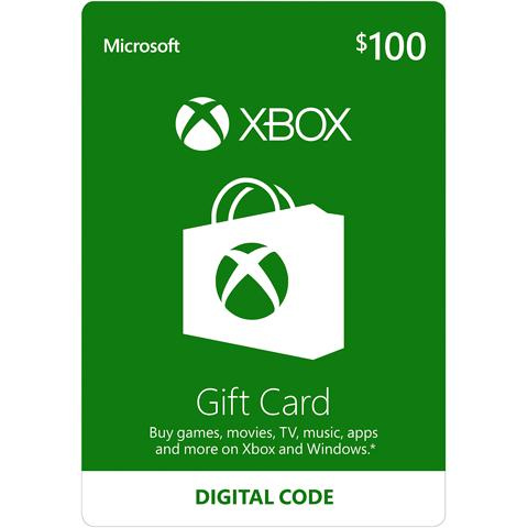10% off $100 Xbox Gift Card : Only $90