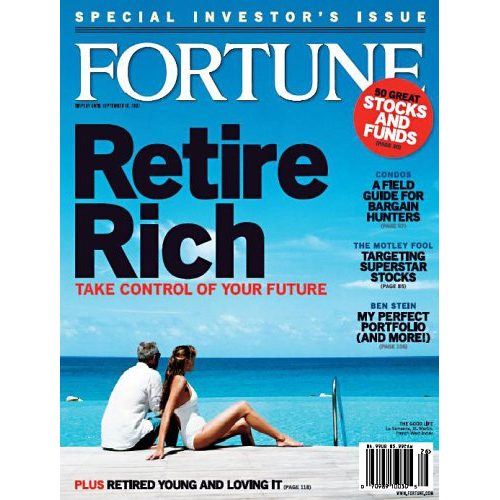 Fortune Magazine Subscription : Only $5