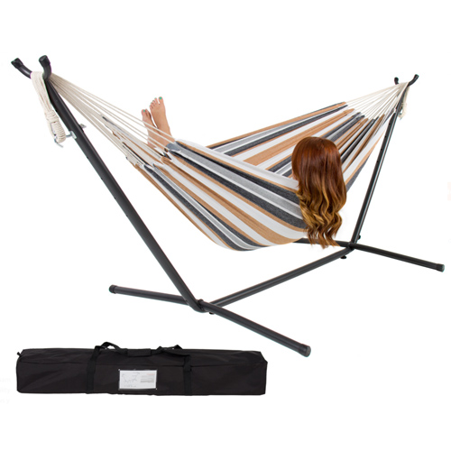 Portable Hammock w/Stand : $59.94 + Free S/H